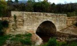 Ouro Branco - Ponte de pedra na Estrada Real, Por Luiz Alberto