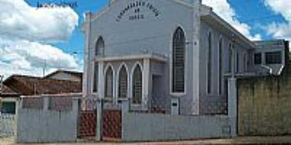 Igreja da Congregação Cristã do Brasil em Ouro Fino-Foto:Congregação Cristã.NET