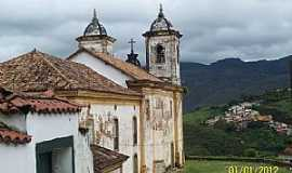 Ouro Preto - Ouro Preto-MG-Igreja das Mercês e Perdões-Mercês de Baixo-Foto:Josue Marinho