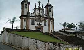 Ouro Preto - Ouro Preto-MG-Igreja de N.Sra.do Carmo-Foto:Josue Marinho