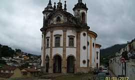 Ouro Preto - Ouro Preto-MG-Igreja de N.Sra.do Rosário-Foto:Josue Marinho