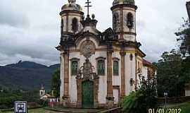 Ouro Preto - Ouro Preto-MG-Igreja de São Francisco de Assis-Foto:Josue Marinho