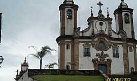 Ouro Preto - Ouro Preto-MG-Igreja do Carmo-Foto:Josue Marinho