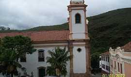 Ouro Preto - Ouro Preto-MG-Lateral da Igreja do Pilar-Foto:Josue Marinho