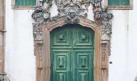 Ouro Preto - Ouro Preto-MG-Portal em pedra sabão da Igreja de São Francisco-Foto:Josue Marinho