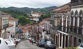 Ouro Preto - Ouro Preto-MG-Rua Conde de Bobadela-Rua do Comércio-Foto:Josue Marinho