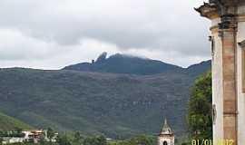 Ouro Preto - Ouro Preto-MG-Vista do Pico do Itacolomi-Foto:Josue Marinho