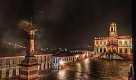 Ouro Preto - OURO PRETO -MG  Praça Tiradentes Fotografia de David Stephano