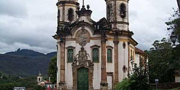 Ouro Preto-MG-Igreja de São Francisco de Assis-Foto:Josue Marinho