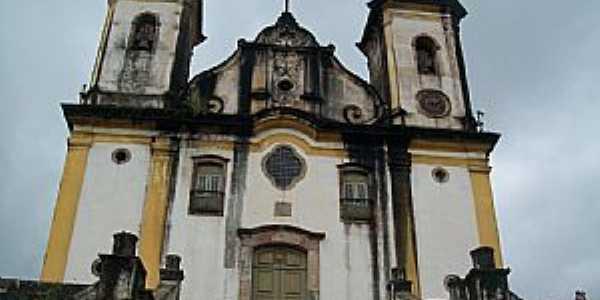 Ouro Preto-MG-Igreja de São Francisco de Paula-Foto:Josue Marinho
