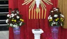 Paciência - Painel da Igreja sobre a Festa Do Divino, Por Amanda Ryanne