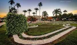 Amargosa - Praça Lourival Monte.  Por FABIANO CERBATO