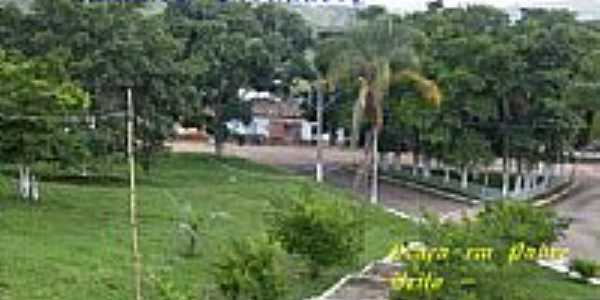Praça em Padre Brito-Foto:Ronaldo Fernandes Ol…