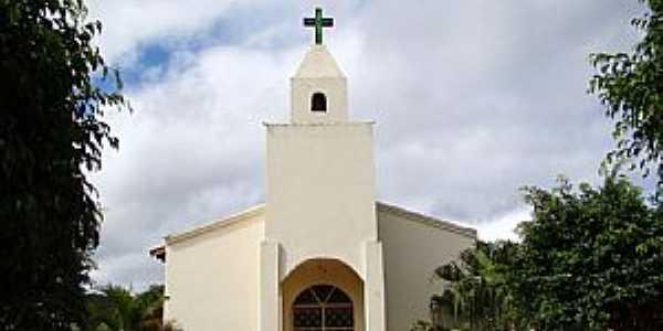 Padre Carvalho-MG-Igreja de N.Sra.Aparecida na Vila Curral de Varas-Foto:Vicente A. Queiroz