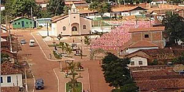 Padre Carvalho-MG-Vista do centro da cidade-Foto:padrecarvalhomg.webnode.com.br