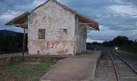 Pai Pedro - Antiga Estação Ferroviária-Foto:flickr.postada por;Jonathan Sobral