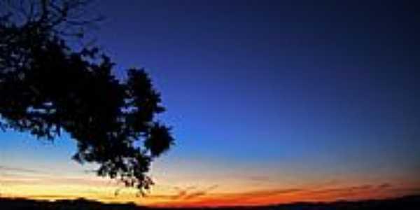 Pôr do Sol em Paiolinho-Foto:Fabiano Morari