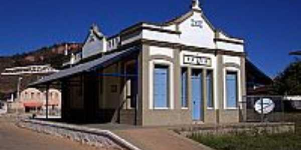 Antiga Estação Ferroviária de Paiva-MG-Foto:Jorge A. Ferreira Jr…