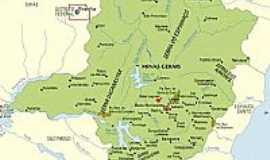 Par� de Minas - Mapa