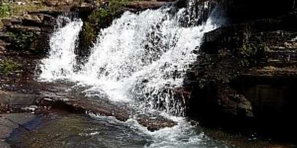 Paracatu-MG-Cachoeira do Ascânio,antiga barragem-Foto:Carlos Alberto Alves