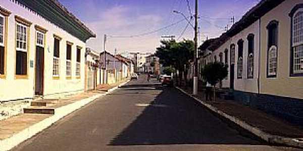 Paracatu-MG-Rua do Centro Histórico-Foto:Carlos Alberto Alves