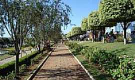 Paraguaçu - Praça Oswaldo Costa-Foto:Júlio C Bueno.
