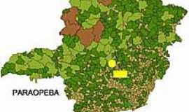 Paraopeba - Mapa