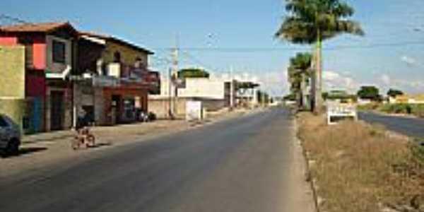 Av.Dr.Julio Cesar em Paraopeba-Foto:fbaracho