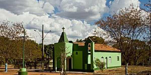 Paredão de Minas-MG-Igreja do distrito-Foto:André Renato