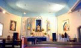 Passa Vinte - Vista interna da Igreja Matriz -  Por clizalda fonseca
