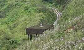 Passagem de Mariana - Caixa D´Água da Estrada de Ferro-Foto:Geraldo Salomão