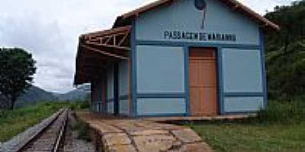 Estação Ferroviária de Passagem de Mariana-MG-Foto:Geraldo Salomão