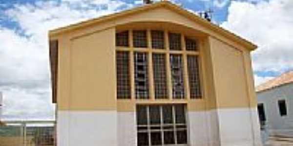 Igreja de São João Batista em Anagé-Foto:Vicente A. Queiroz