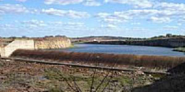 Vertedouro da Barragem em Anagé-Foto:Landucci