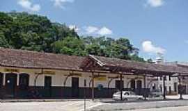 Patrocínio do Muriaé - A estação desativada em 2001