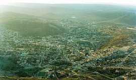 Pedra Azul - Pedra Azul-MG-Vista aérea da cidade em 1993-Foto:PVENTURAASES1