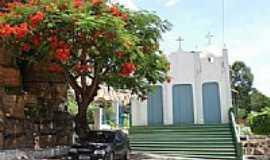 Andaraí - O Flamboyant e a Capela em Andaraí-Foto:Carlos H. Silva de S…
