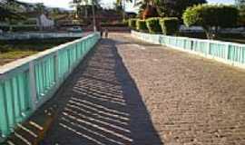 Andaraí - Ponte e praça em Andaraí-Foto:Politano365