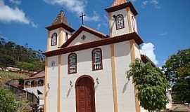Pedra do Anta - Pedra do Anta-MG-Matriz de São Sebastião-Foto:Vicente A.Queiroz