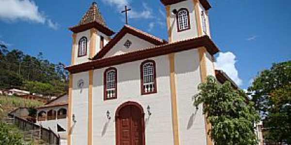 Pedra do Anta-MG-Matriz de São Sebastião-Foto:Vicente A.Queiroz