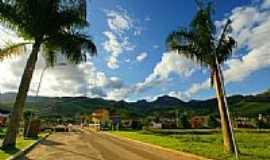 Pedra Dourada - Vista panorâmica da cidade-Foto:sgtrangel