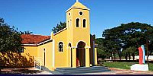 Perdilândia-MG-Capela de N.Sra.Aparecida restaurada-Foto:clicksv.