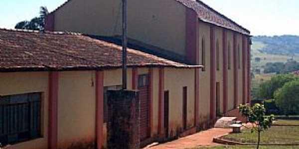 Perdizes-MG-Igreja de N.Sra.do Rosário do Distrito Perdizinha-Foto:Leonardo Figueiredo