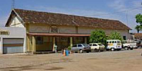 A Estação é base da Polícia Militar