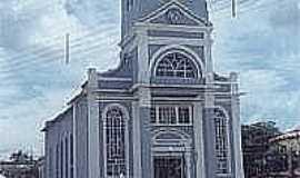 Piedade de Ponte Nova - Igreja Matriz de Santana,antes da reforma, em Piedade de Ponte Nova-Foto:Diêgo Nicomedes da Silva
