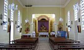 Piedade de Ponte Nova - Interior da Igreja Matriz de Santana em Piedade de Ponte Nova-Foto:ianobre