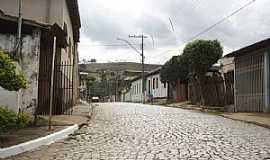 Piedade de Ponte Nova - Piedade de Ponte Nova-MG-Rua na entrada da cidade-Foto:ianobre