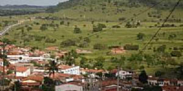 Vista parcial da cidade e a Serra de Anguera-BA-Foto:Pedro Junior de Jesu…