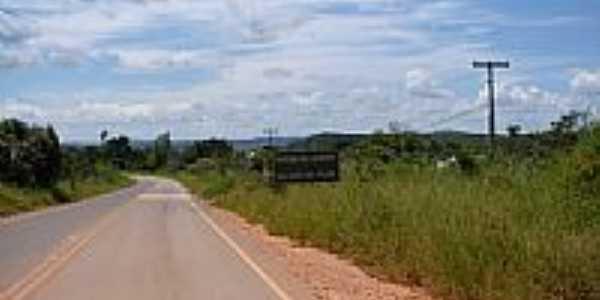 Entrada no Distrito de Pilar-Foto:gemachado