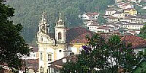 Vista parcial de Pilar Município de Ouro Preto-Foto:Edgard Thomas